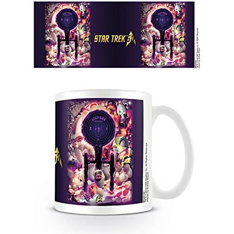 Tazza Star Trek 50th Anniversary Mug Negative Space
