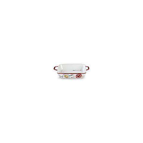 Pirofila In Ceramica Egan Sale E Pepe Cm 32x20,5 (int. 24x19)