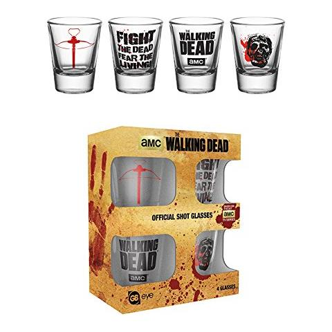 Walking Dead (the) - Symbols (set 4 Bicchieri Piccoli)