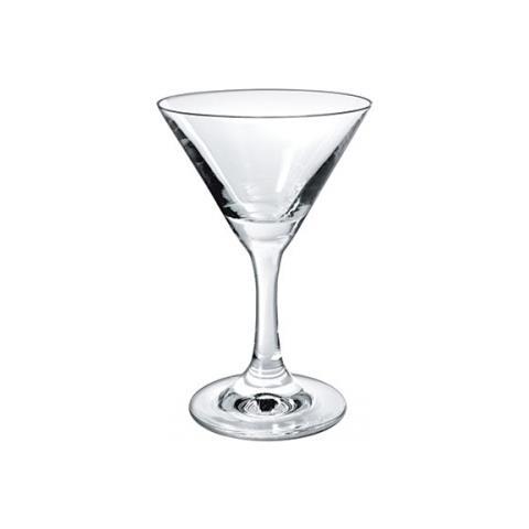 "Borgonovo Calice Martini Coppa In Vetro """" Coppa """" Doppia Coppa """" 100% Made In Italy - 250"