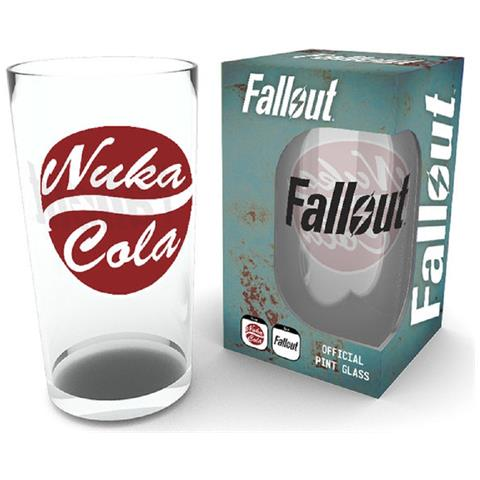 Fallout 4 Nuka Cola Pint Glass (bicchiere)