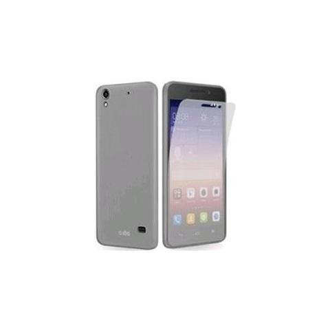 SBS Cover Aero In Tpu Trasparente Huawei G620s + Screen