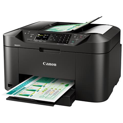 Image of Stampante Multifunzione Maxify MB2150 Inkjet a Colori Stampa Copia Scansione Fax Wi-Fi USB 2.0
