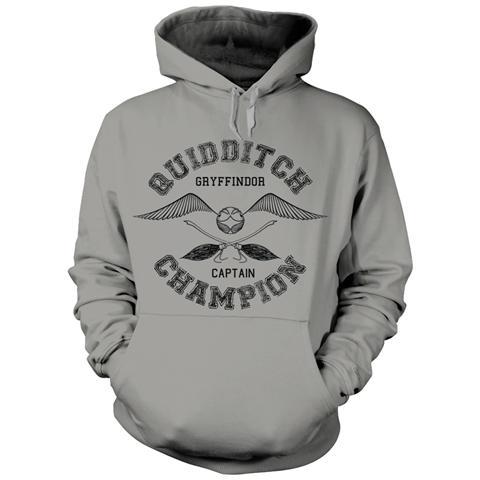 PHM Harry Potter - Quidditch Champion (Felpa Con Cappuccio Unisex Tg. L)