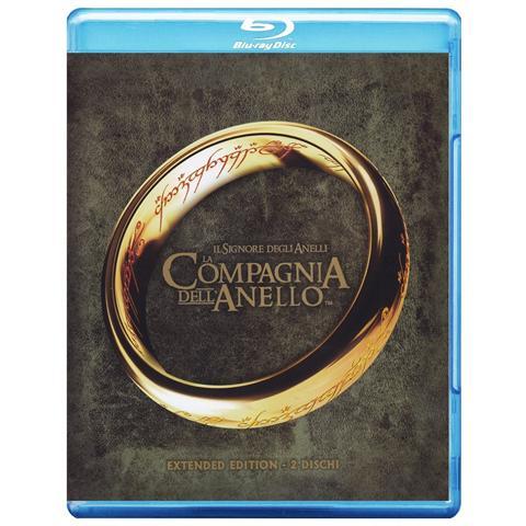 MEDUSA VIDEO Il Signore degli Anelli - La compagnia dell'Anello (extended edition) (Blu-Ray)
