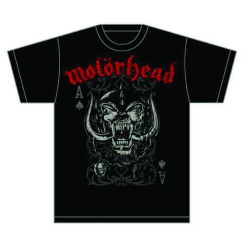 ROCK OFF Motorhead - Playing Card (T-Shirt Unisex Tg. S)