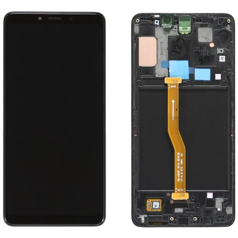 Image of Ricambio Lcd Display Schermo Screen Touch Nero Samsung Galaxy A9 2018 Sm-a920