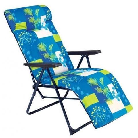 ERENDU Sedia con Cuscino - Blu