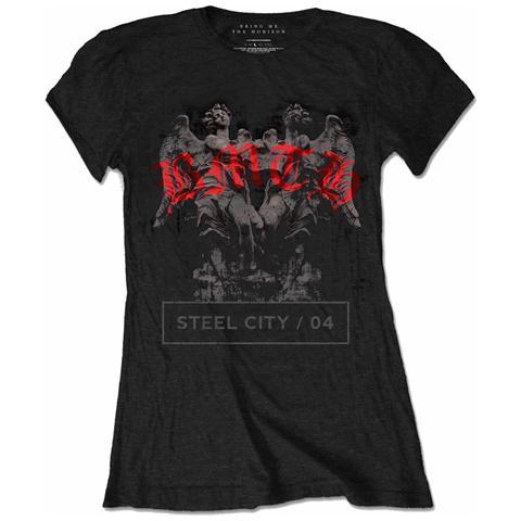 ROCK OFF Bring Me The Horizon - Angels Black (T-Shirt Donna Tg. M)