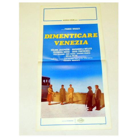 Vendilosubito Locandina Originale Del Film Dimenticare Venezia