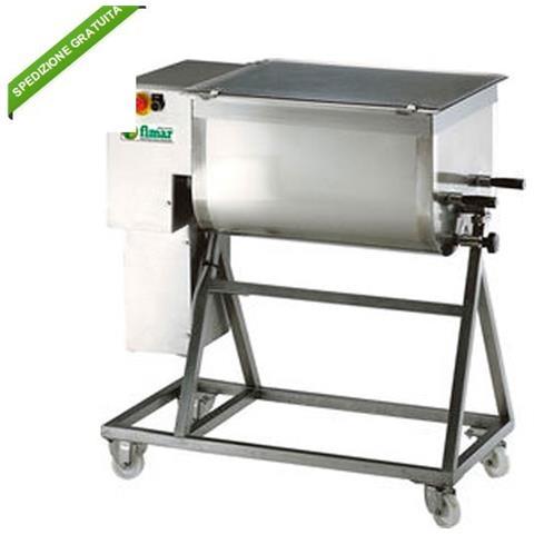 Impastatrice Per Carne - Trifase - Impasto 95 Kg - 2 Pale
