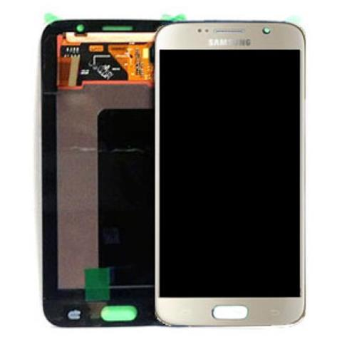 Image of Display schermo LCD touch Samsung Galaxy s6 sm-g920f oro service pack