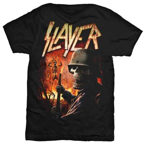 ROCK OFF Slayer - Torch (T-Shirt Unisex Tg. L)