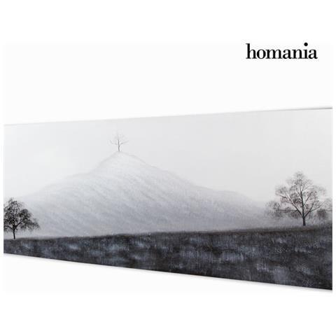 Homania Dipinto Olio Paesaggio By