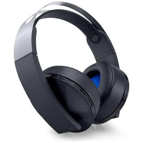 SONY [Ricondizionato GOLD] Cuffie con Microfono Platinum Wireless Headset per Ps4, PC e Mac