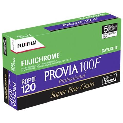1x5 Fujifilm Provia 100 F 120 nuovo