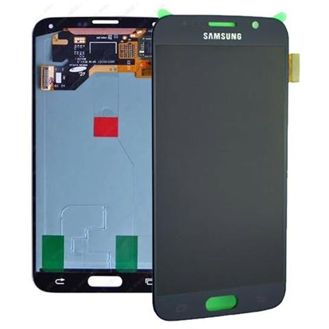 Samsung Display schermo LCD touch per Galaxy S6 SM-G920F Nero service pack