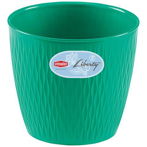 STEFANPLAST Portavaso Colore Verde - Modello Liberty