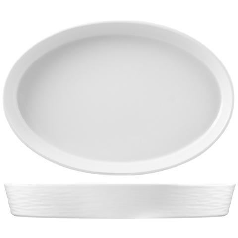 Hotelware Pirofila Porcellana Ovale 51x33xh7 Strumenti Da Cucina