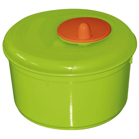 Centrifuga per insalata in plastica con cestello girevole colori assortiti