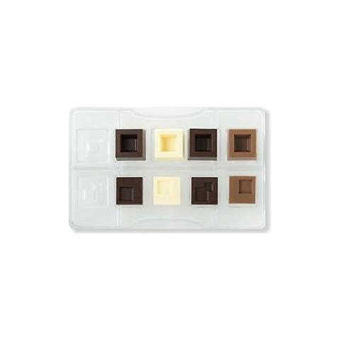 Decora Stampo cioccolato quadro componibile in policarbonato