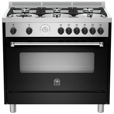 Bertazzoni la germania cucina a gas amn905gevsnet serie americana 5 fuochi a gas forno a gas - Cucine bertazzoni la germania ...