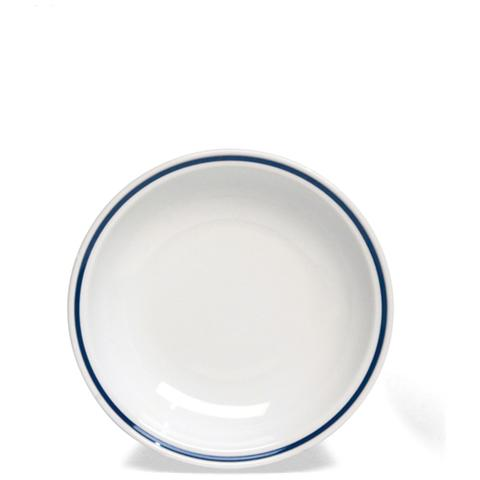 TOGNANA Piatto Fondo Bianco / Blu 21 cm
