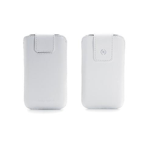 CELLY Custodia iLux per iPhone 4S - Bianco