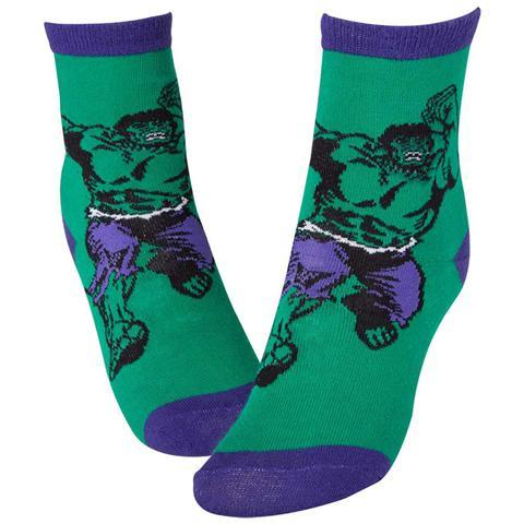 BIOWORLD Marvel - Hulk Green & Blue (Calzini Tg. 39-42)