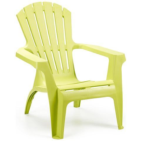 Poltrona da Giardino Colore Verde Lime - Modello Dolomiti