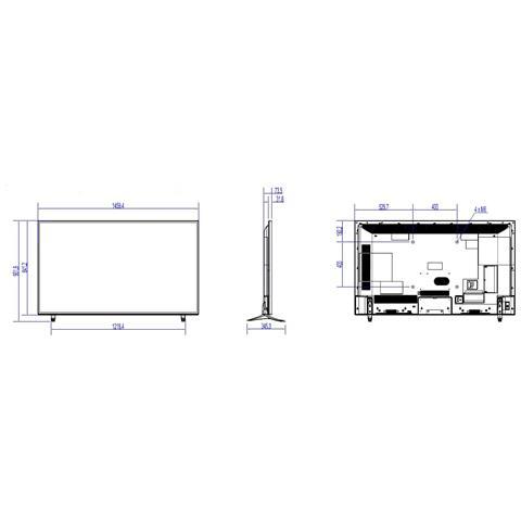 Image of 65IN 65HFL2879T LEDTV 5MS 4K 16:9 3840X2160 4000:1 DVI HDMI IN