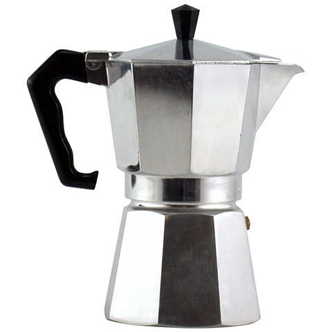 Caffettiera Moka 3 Tazze Coffe Maker Espresso Caffe' Napoletana Mezza 3 Tazza
