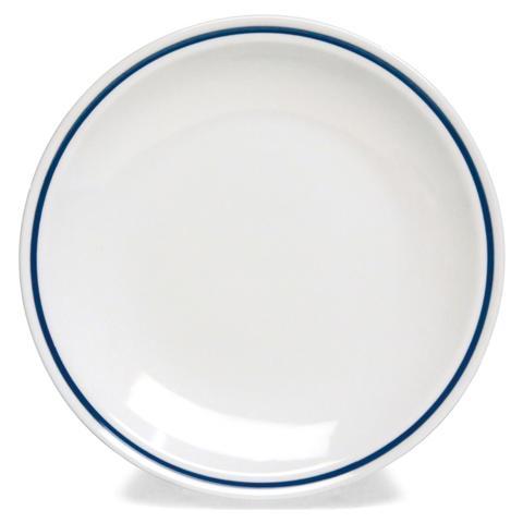 TOGNANA Piatto Frutta Bianco / Blu 20 cm