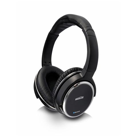 MARMITEK BoomBoom 560 Cuffia Bluetooth Over Ear pieghevole Headset (con microfono) - Nero