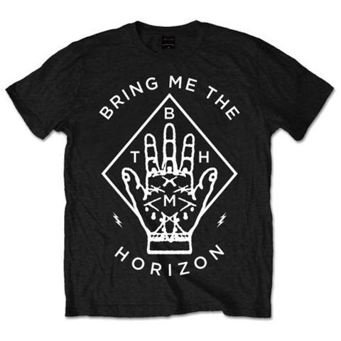 ROCK OFF Bring Me The Horizon - Diamond Hand (T-Shirt Unisex Tg. S)