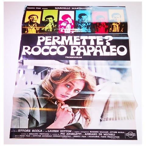 Vendilosubito Foto Busta Completo Originale Del Film Permette ? Rocco Papaleo ! Rarissima