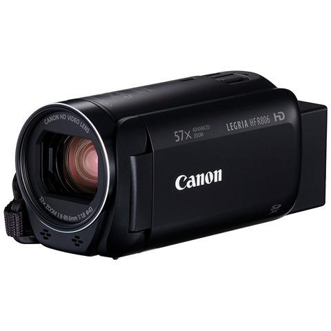 """CANON Legria HF R806 CMOS Videocamera Digitale Full HD Zoom Ottico 32x LCD Touch 3"""" Colore Nero"""