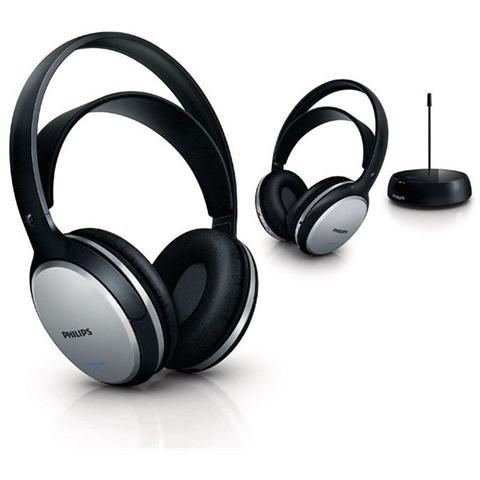 PHILIPS SHC5102/10 Cuffie Hi-Fi Wireless Ricaricabili