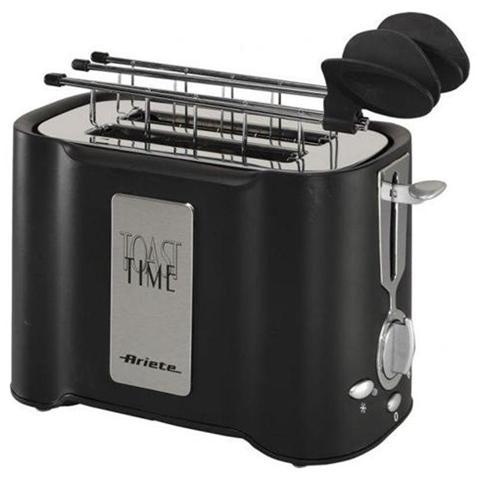 Tostì Nero tostapane potenza 500 Watt Colore Nero
