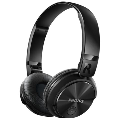 PHILIPS Cuffie stereo Bluetooth SHB3060 Nero