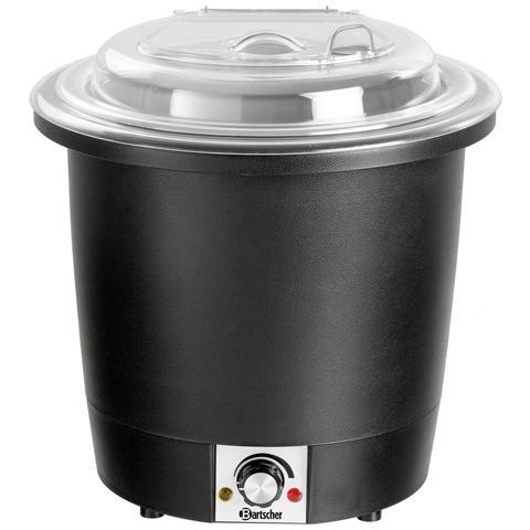 Zuppiera da 10 litri nera 100048