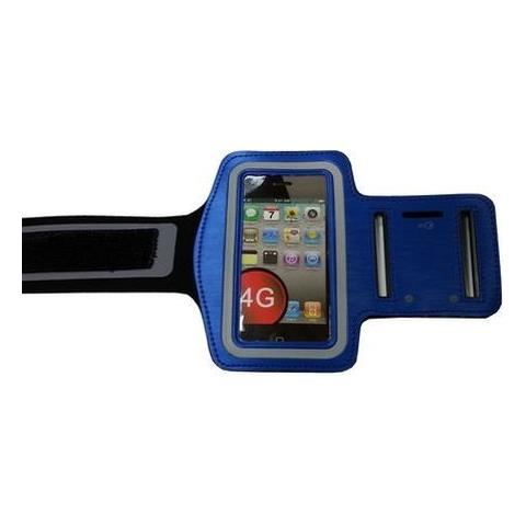 NetworkShop Custodia Fascia Da Braccio Sport Armband Blu Per Iphone 4/4s / 3g / 3gs / ipod Touch