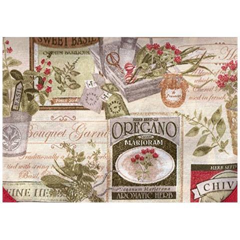 Cieffepi Home Collections - Cesto Portapane Garden Fragola