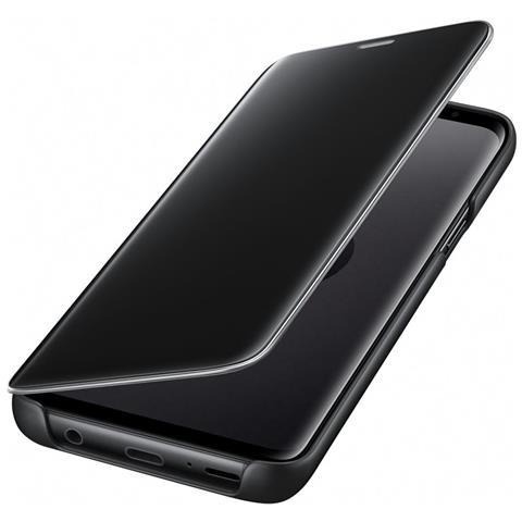 SAMSUNG Flip Cover Custodia Clear View per Galaxy S9 colore Nero