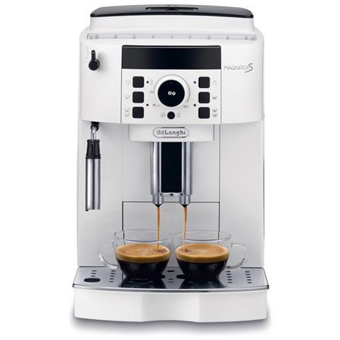 ECAM 21110 Magnifica S Macchina Caffè Espresso Automatica Serbatoio 1,8 Litri Potenza 1450 Watt Colore Bianco