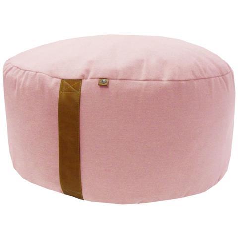 Overseas Pouf 30x70 Cm In Feltro Rosa