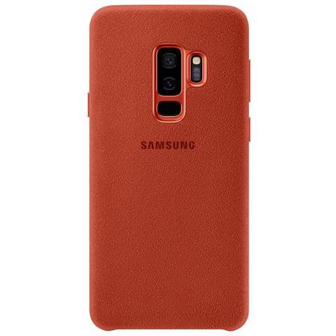 SAMSUNG Cover Alcantara per Galaxy S9+ colore Rosso