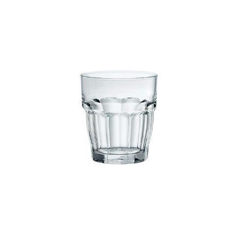 Bicchiere Impilabile Rock Bar 27 Cl Vetro Temperato Bormioli Rocco Set 6 Pz