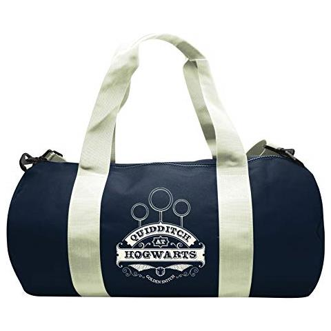 ABYSTYLE Harry Potter - Borsa Sportiva Quidditch - Navy / Bianco