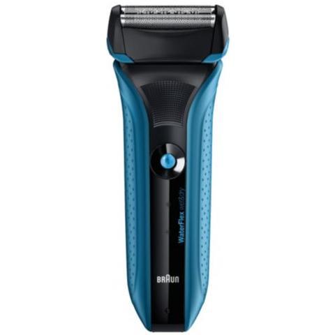 BRAUN WF2S BLU Rasoio Wet&Dry Colore Blu